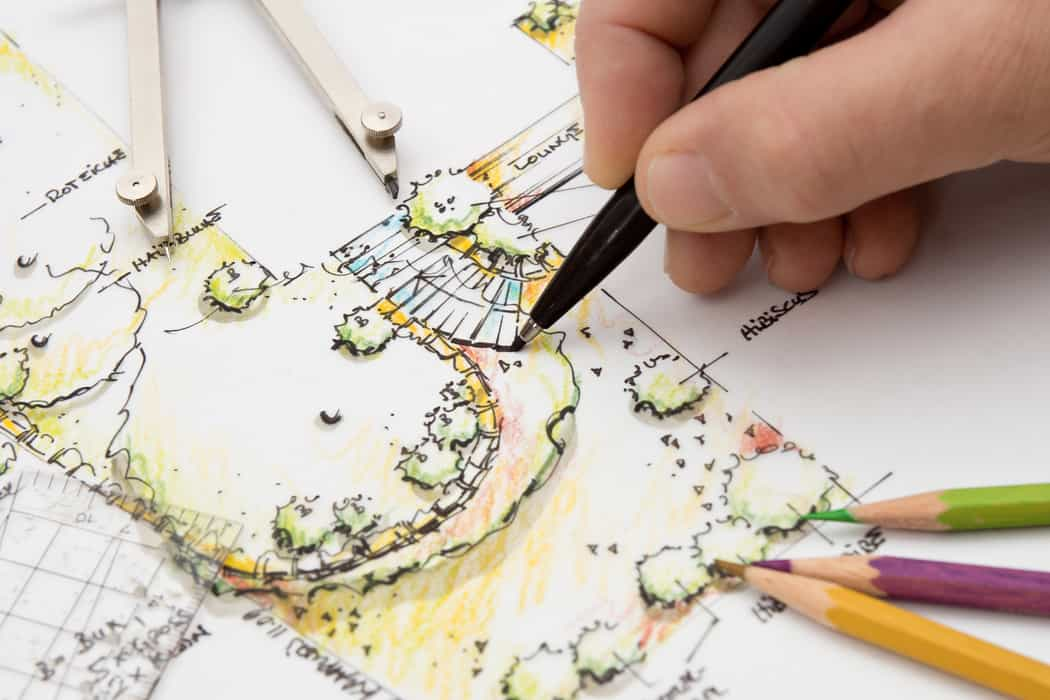 garden design blueprint